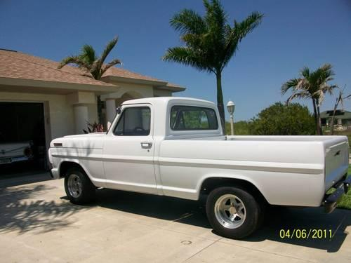 1967 ford f100 for sale in port charlotte florida classified. Black Bedroom Furniture Sets. Home Design Ideas