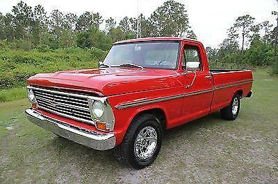1967 ford f100 ranger pickup truck 352 f 100 must see call now for sale in saint cloud florida. Black Bedroom Furniture Sets. Home Design Ideas