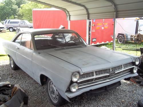 ford fairlane xl  door hardtop  motor  speed