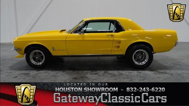 1967 ford mustang 223hou for sale in houston texas classified. Black Bedroom Furniture Sets. Home Design Ideas