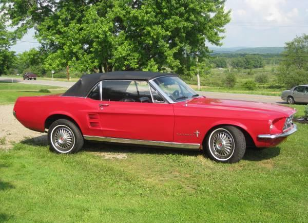 1967 ford mustang convertible best offer for sale in. Black Bedroom Furniture Sets. Home Design Ideas