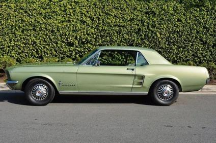 1967 Ford Mustang In Lime Gold For Sale In San Antonio