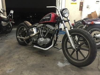 1967 Harley-Davidson shovelhead flh