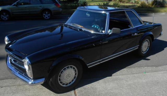 1967 Mercedes 250sl Black 1967 Mercedes Benz 250sl