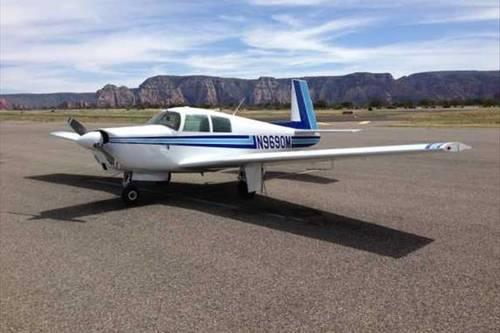 1967 Mooney M20C Mark 21 Airplane
