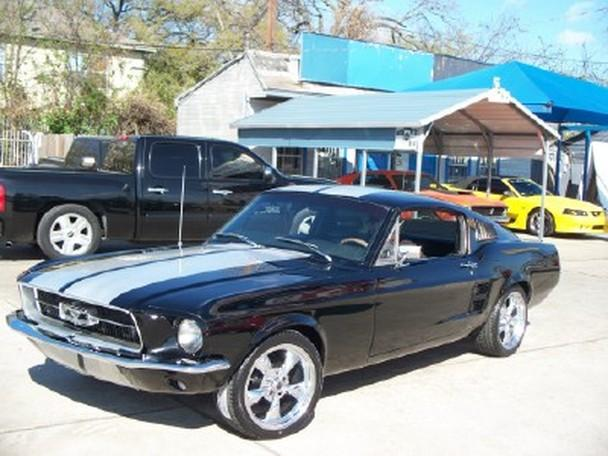 1967 mustang fastback for sale in houston texas classified. Black Bedroom Furniture Sets. Home Design Ideas