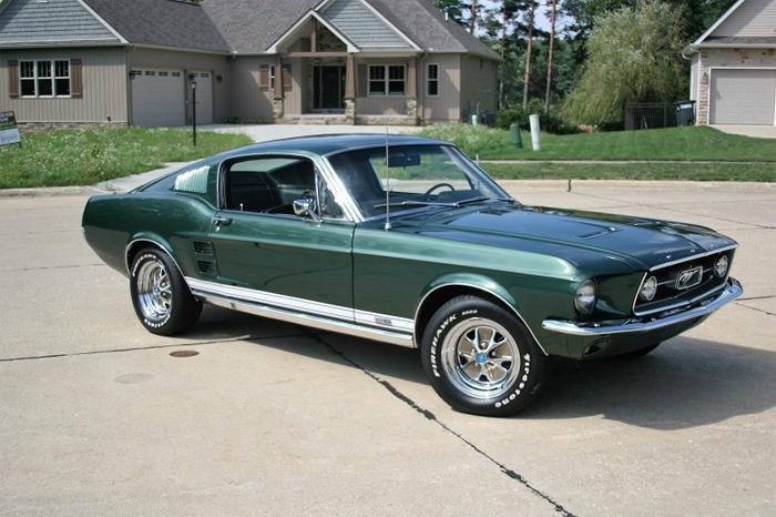 1967 Mustang Fastback GTA $25,700
