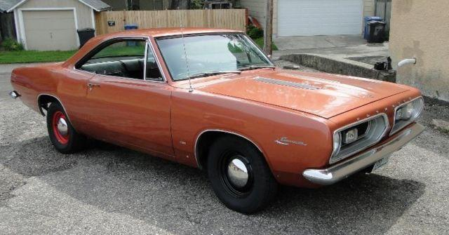1967 Plymouth Barracuda Notchback Coupe For Sale In Prior