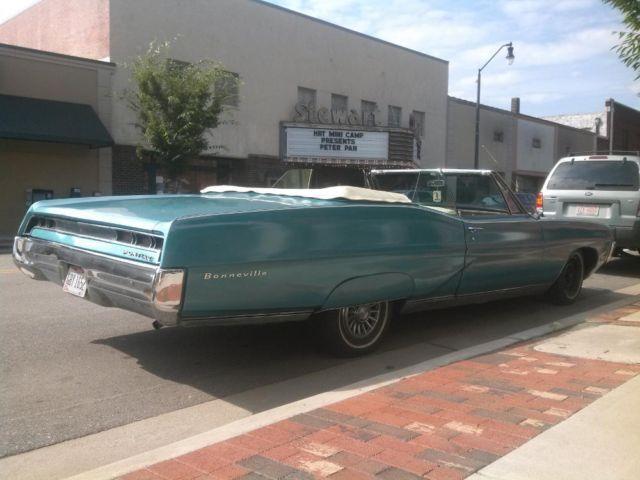 1967 Pontiac Bonneville Convertible For Sale In Virginia