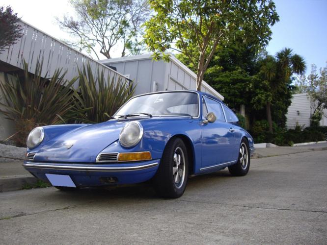 1967 Porsche 912 2Door Coupe Matching Numbers Blue