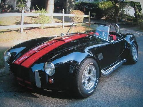 1967, Shelby Cobra Replica Coupe