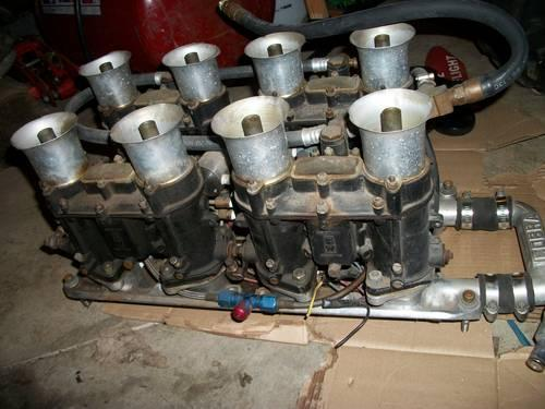 1967 Shelby Cobra, Shelby GT350 Cobra Weber intake and carbs complete
