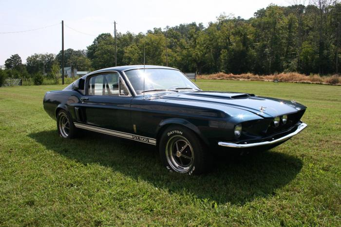 1967 Shelby Mustang GT500 Fastback Blue