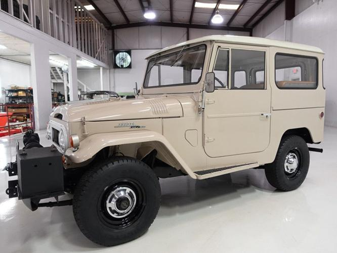 1967 Toyota Land Cruiser FJ40 Only 53 886 miles for Sale in Overland