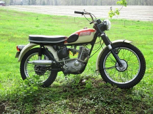 1967 triumph mountain cub 200cc street trail motorcycle for sale in cross lake new york. Black Bedroom Furniture Sets. Home Design Ideas