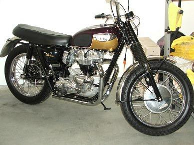 1967 Triumph T120 TT Boneville for Sale in Davidson, North ...