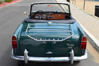 1967 triumph tr4 a irs in british racing green for sale in for Moss motors buy here pay here