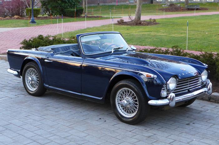 1967 Triumph Tr4a Irs Convertible For Sale In Metairie Louisiana