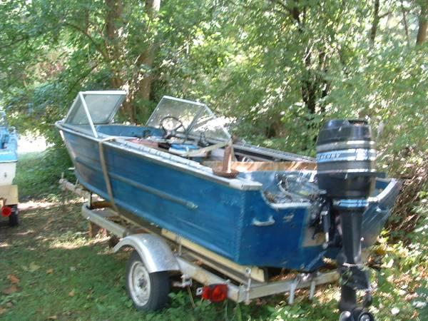 1968 15 39 aluminum star craft boat and trailer for sale for Aluminum craft boats for sale