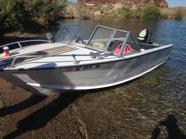 1968 aluminum starcraft 16 39 for sale in lake havasu city for Best aluminum fishing boat for the money