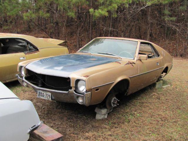 1968 amc amx needs restoration for sale in calhoun for American restoration cars for sale