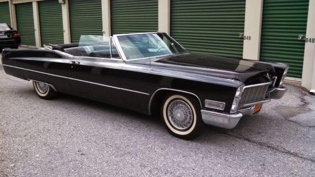 1968 Cadillac Deville Convertible For Sale In Co Bluffs