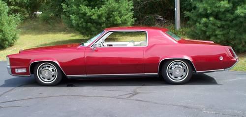 1968 Cadillac Eldorado Classic Custom For Sale In Lowell