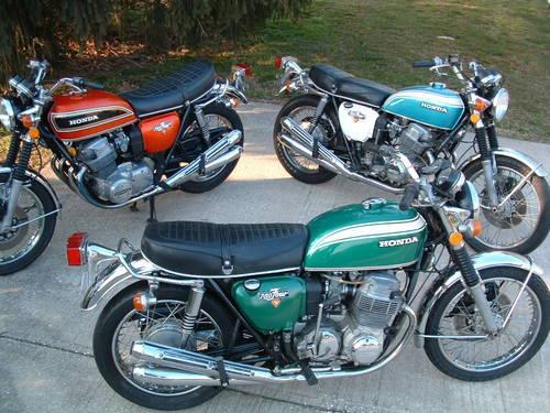 1968 Cb450 71 Cb750  Cb550 Cl77 Cb350 Cl360 Cb125 Kz400