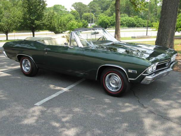 1968 Chevelle 396 Convertible Frame Off Restoration for Sale in ...