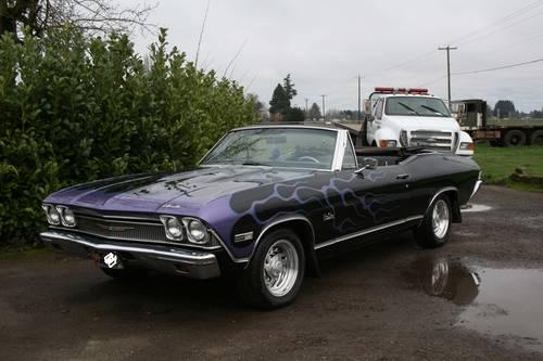 1968 chevelle convertible for sale in salem oregon classified. Black Bedroom Furniture Sets. Home Design Ideas