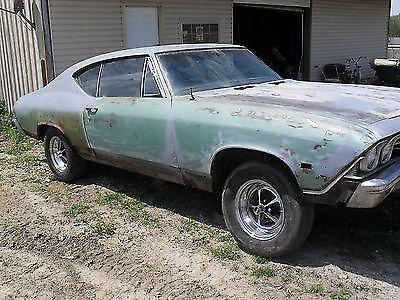 1968 Chevelle Ss396 Project Car For Sale In Fillmore