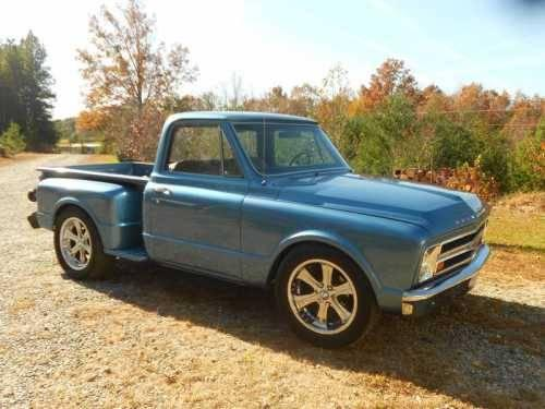 1968 chevrolet c10 stepside classic truck in mill spring nc for sale in mill spring north. Black Bedroom Furniture Sets. Home Design Ideas