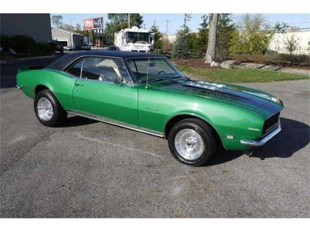 1968 chevrolet camaro for sale in lansing michigan. Black Bedroom Furniture Sets. Home Design Ideas