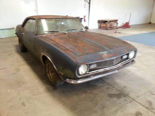 1968 Chevrolet Camaro For Sale In Rome Georgia Classified