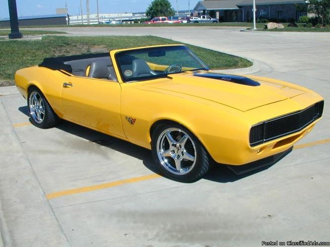 1968 chevrolet camaro convertible ss 350 price 14 000 for sale in riverside california. Black Bedroom Furniture Sets. Home Design Ideas
