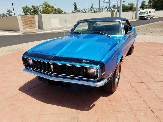 1968 Chevrolet Camaro RS Coupe Blue