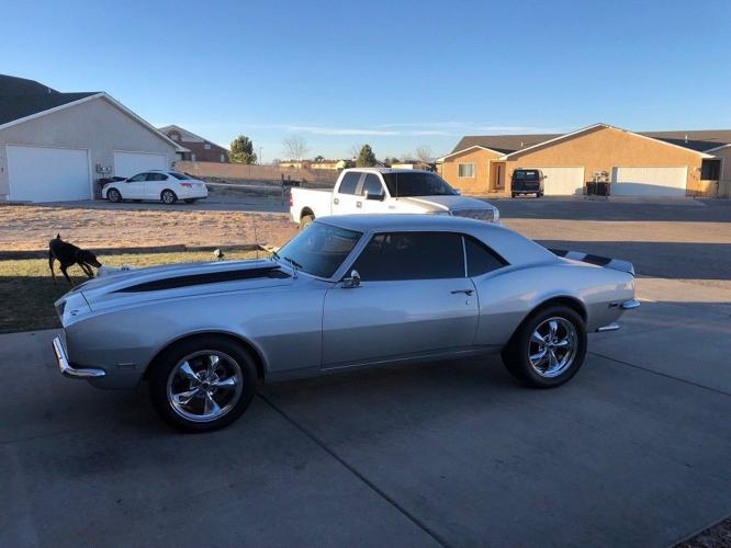 1968 Chevrolet Camaro Ss Silver 350 V8 For Sale In