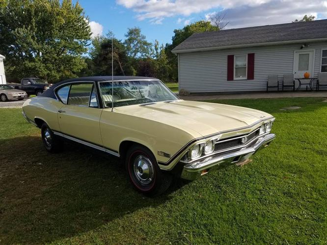 1968 Chevrolet Chevelle SS 396 Barn Find