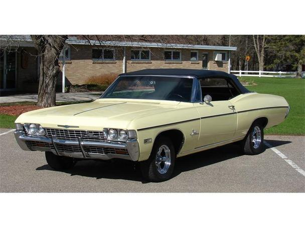 1968 chevrolet impala for sale in maple lake minnesota classified. Black Bedroom Furniture Sets. Home Design Ideas
