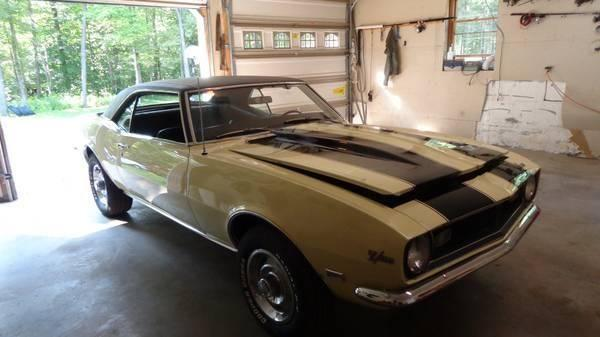 1968 Chevy Camaro For Sale Pa For Sale In Jackson