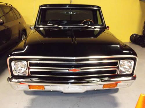 1968 chevy chevrolet c10 supercharged brand new chevy 350 engine wow for sale in uxbridge. Black Bedroom Furniture Sets. Home Design Ideas