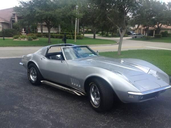 1968 chevy corvette for sale fl for sale in pompano. Black Bedroom Furniture Sets. Home Design Ideas