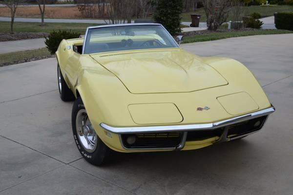 1968 chevy corvette for sale nc for sale in guthrie north carolina classified. Black Bedroom Furniture Sets. Home Design Ideas