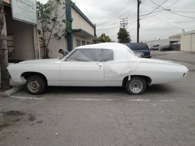 1968 chevy impala project car for sale in el monte california classified. Black Bedroom Furniture Sets. Home Design Ideas