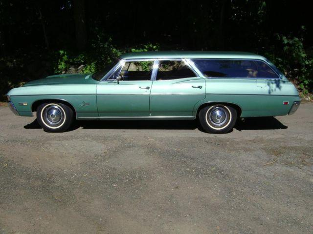 1968 chevy impala station wagon v8 327 option for sale in westborough massachusetts classified. Black Bedroom Furniture Sets. Home Design Ideas