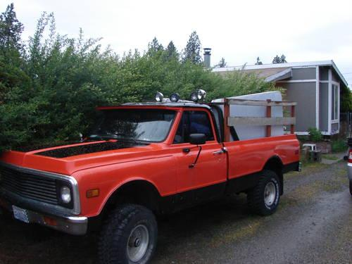 1968 chevy truck lifted for sale in spokane washington classified. Black Bedroom Furniture Sets. Home Design Ideas