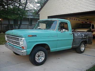 1968 Ford F100 Short Bed