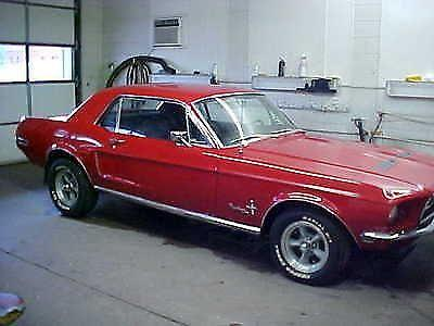 1968 Ford Mustang 289 V 8 Stick Shift For Sale In Flora Illinois