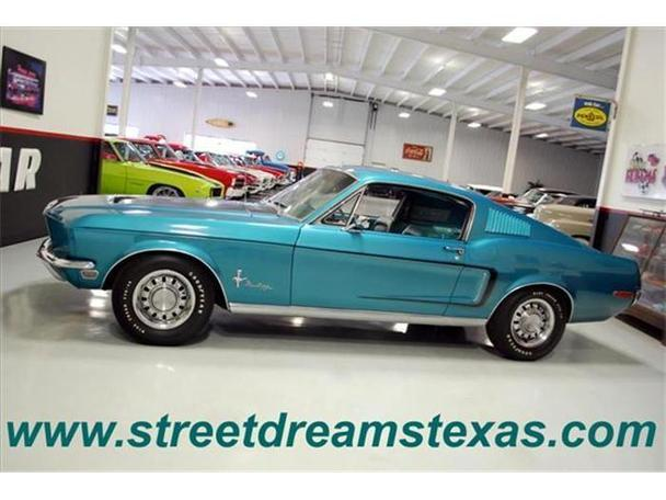 1968 ford mustang for sale in fredericksburg texas classified. Black Bedroom Furniture Sets. Home Design Ideas