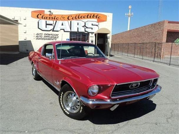 1968 ford mustang for sale in las vegas nevada classified. Black Bedroom Furniture Sets. Home Design Ideas